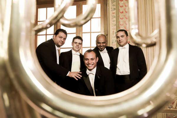 quinteto de metais da ospa apresenta-se em concerto na igreja evangélica assembleia de deus