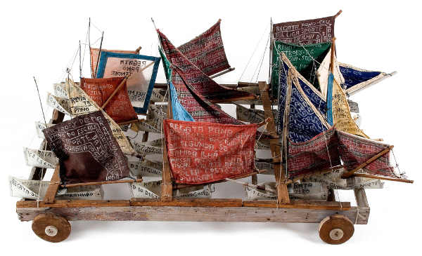 veleiros em regata de arthur bispo do rosário