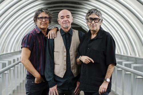 Banda Los Três Plantados. Bebeto Alves, Jimi Joe e King Jim. Foto: Fernanda Chemale