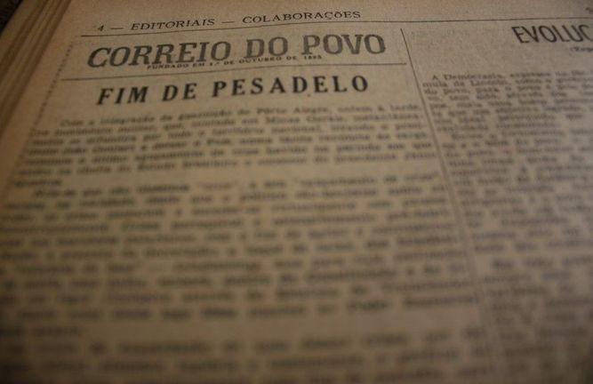 correio do povo 1964