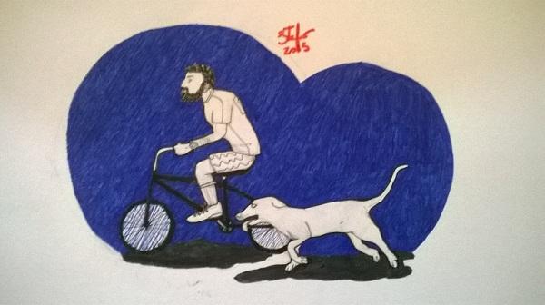 desenho de stefano pfitscher