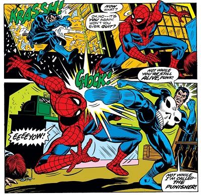 Amazing Spider Man 129_ Justiceiro