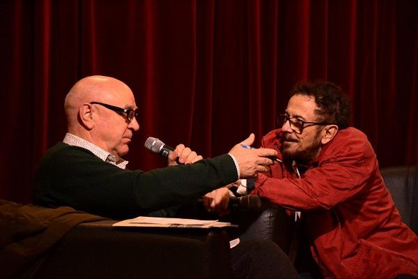 Entrevistando o Tom Zé (foto: Arquivo Pessoal)