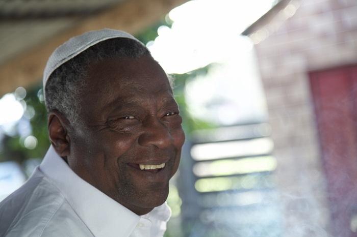 Antônio Carlos de Xangô, um dos mais velhos pais-de-santo do RS (foto: Francisco Cadaval)