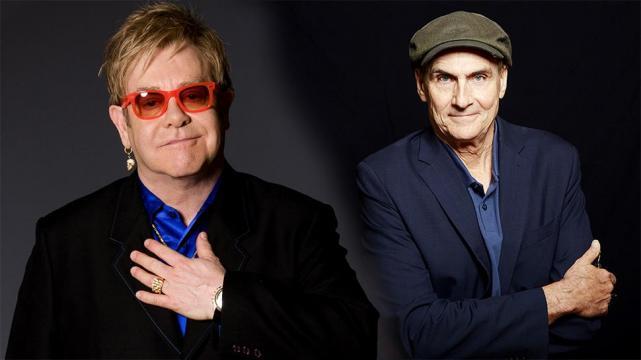 Elton John e James Taylor_Porto Alegre, Beira-Rio