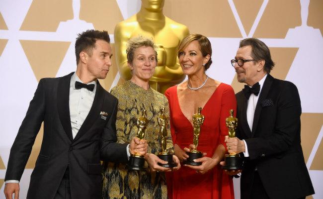 Confira os grandes vencedores do Oscar 2018
