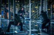 Keanu reeves em cena de ação de john wick 3